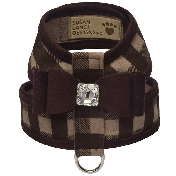 Big Bow Fawn Gingham Tinkie Harness