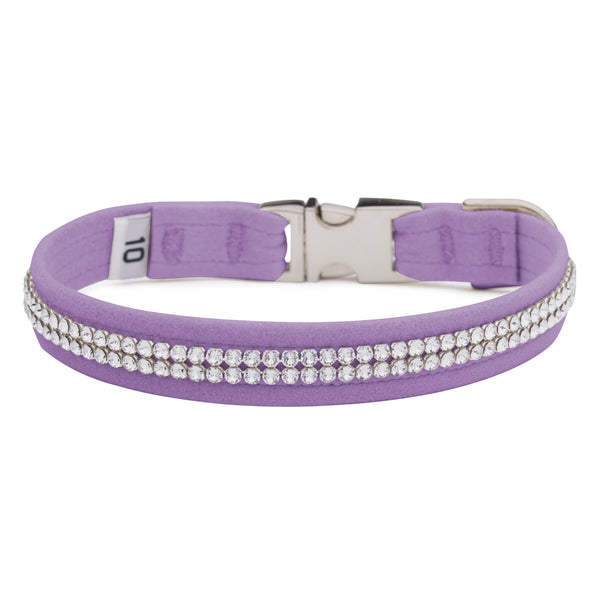 French Lavender 2 Row Giltmore Perfect Fit Collar