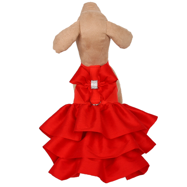 Madison Dress Red Pepper