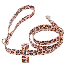 Cheetah Couture Big Bow Leash