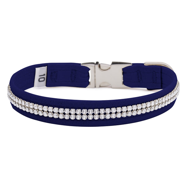 Indigo 2 Row Giltmore Perfect Fit Collar