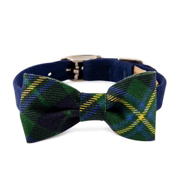 Scotty Collar Forrest Plaid