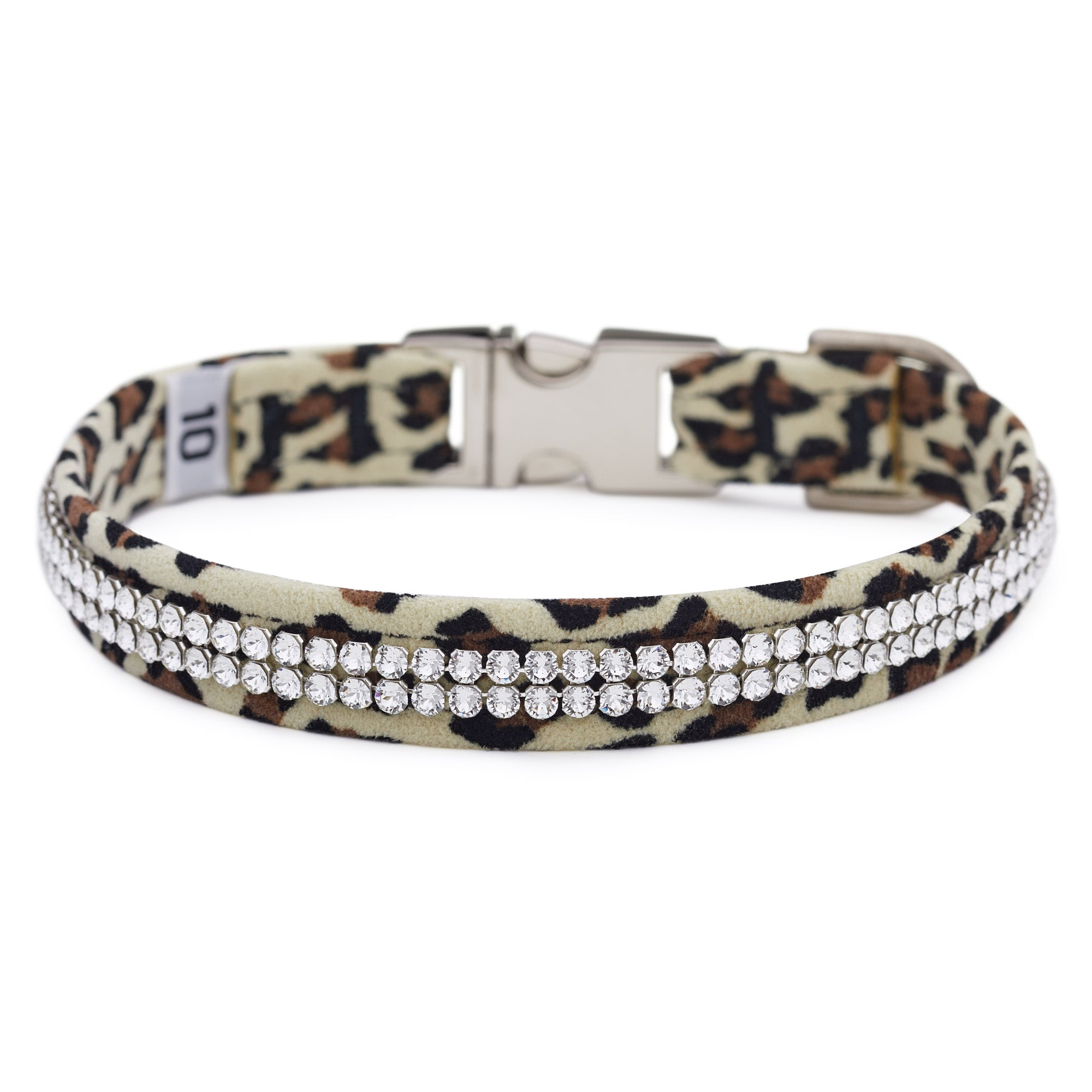 Cheetah Light 2 Row Giltmore Perfect Fit Collar