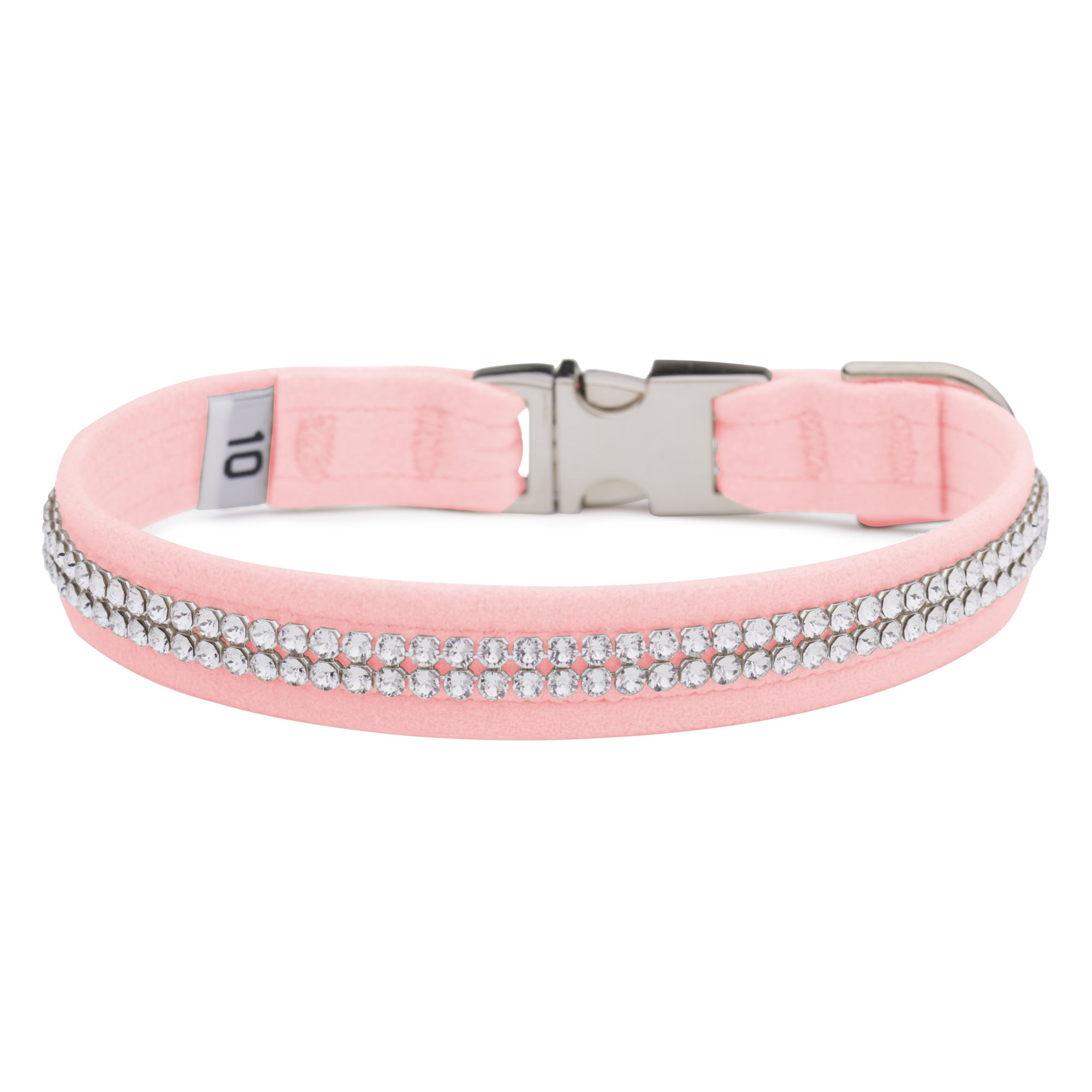 Puppy Pink 2 Row Giltmore Perfect Fit Collar
