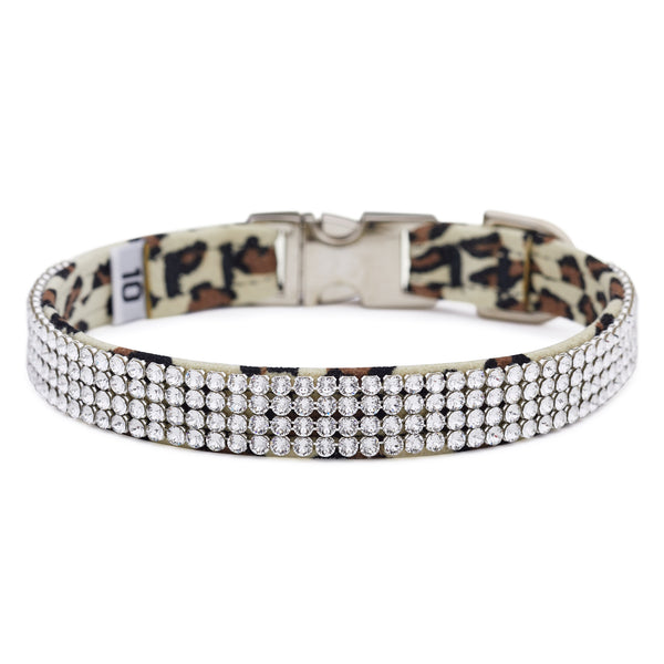 Cheetah Light 4 Row Giltmore Perfect Fit Collar