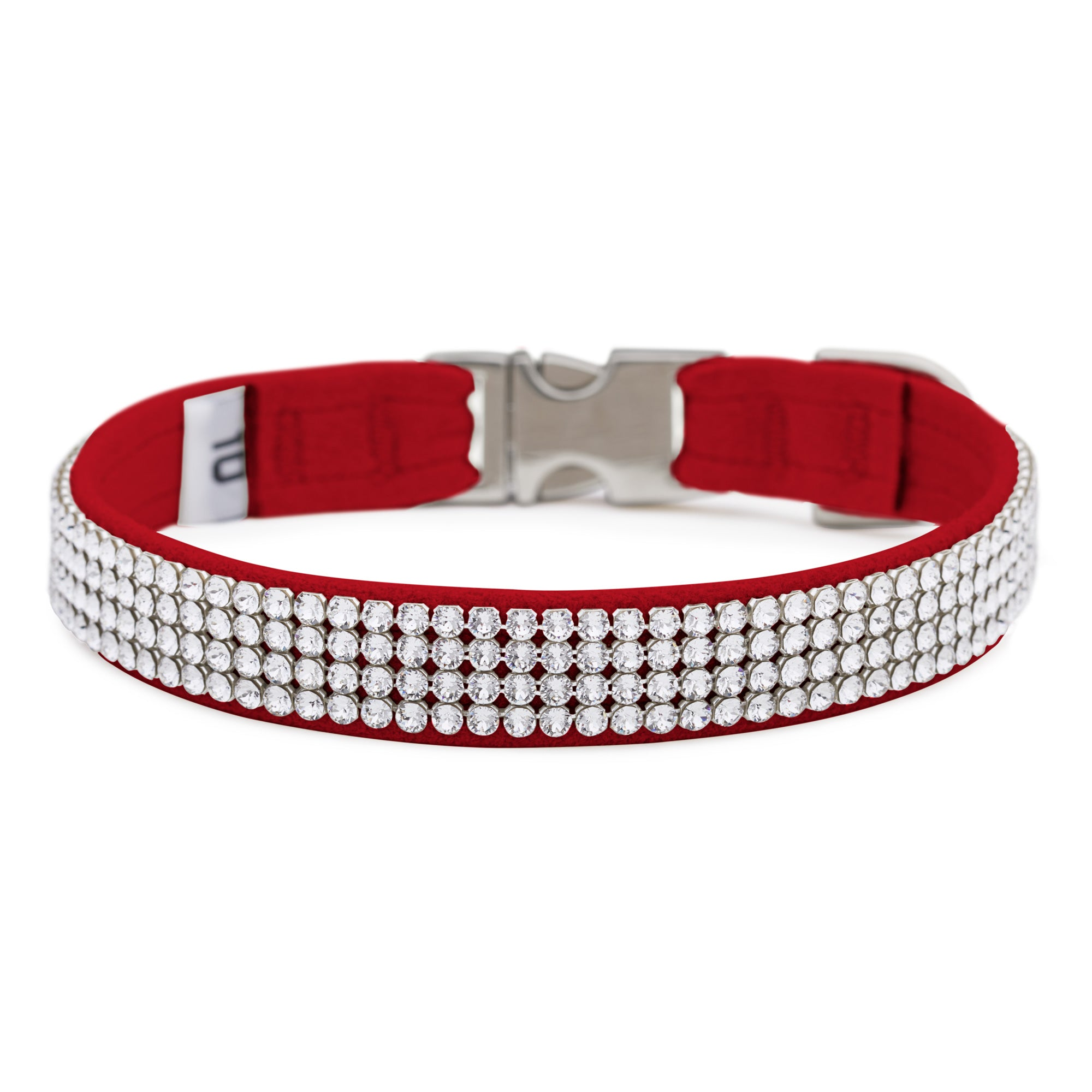 Red 4 Row Giltmore Perfect Fit Collar
