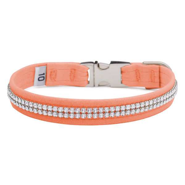 Peaches N Cream 2 Row Giltmore Perfect Fit Collar
