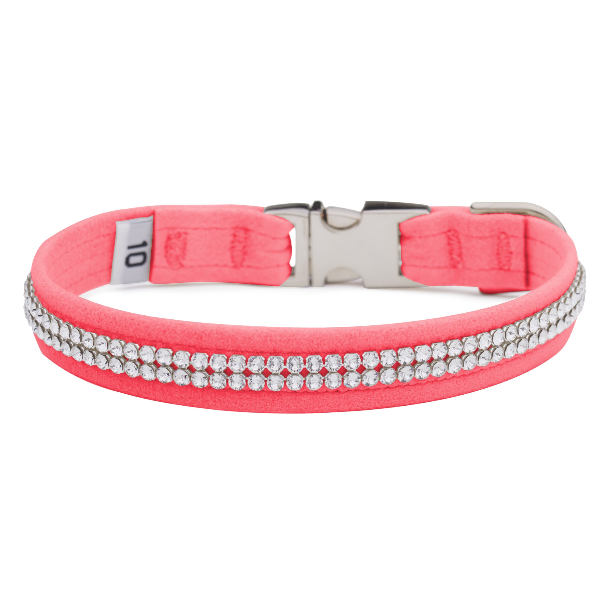 Perfect Pink 2 Row Giltmore Perfect Fit Collar