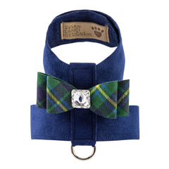 Scotty Big Bow Tinkie Harness Forrest Plaid