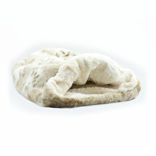 Arctic Snow with Ivory Curly Sue Cuddle Cup