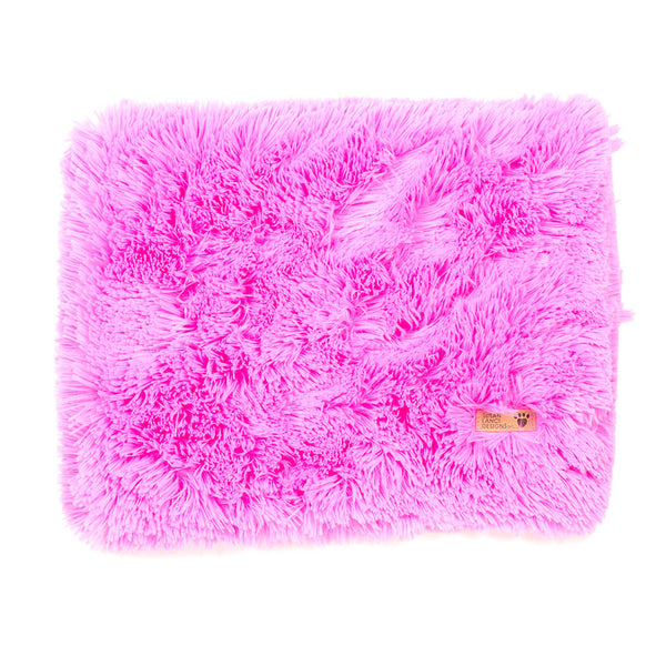 Perfect Pink Shag Blanket