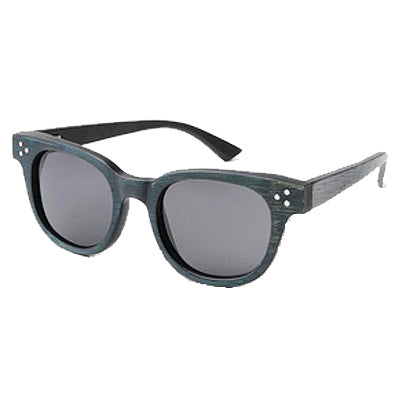 SunFly Dark Green Bamboo with Grey Polarized Lens