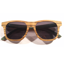 SunFly Zebra Wood Sunglasses with Polarized Lens