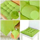 Home Chair Seat Cushion Pad Winter Office  1/2/4pcs
