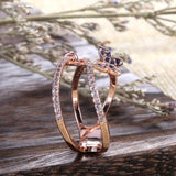 Fashion Butterfly Shaped Finger Ring For Women