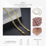 Gold Chain Necklace for Men & Women Necklaces Fashion Gift Ideas