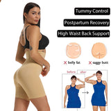 Seamless  High Waisted Body Shaper Tummy Control Panties Butt Lifter Slimming Shapewear for Women