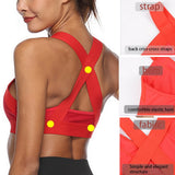 Sports Bra Sexy Mesh Breathable Sports Top Push Up Female Gym Fitness Sports Underwear Female Seamless Running Yoga Bra