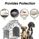Waterproof Reusable Dog Bed Mats Dog Urine Pad Puppy Pee Fast Absorbing Pad Rug for Pet Training