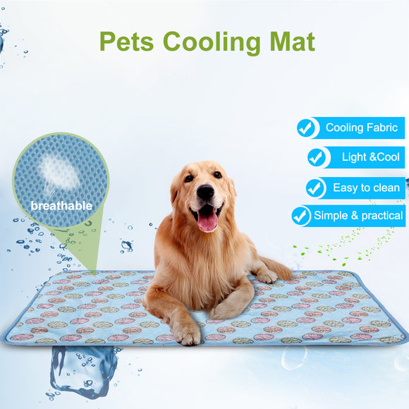 Pet Cooling Mat 2020 Cold Gel Pad Comfortable Multi-functional Cushion For Cats Dog