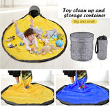 Kids Toy Storage Bag Multifunctional Toys Storage Container