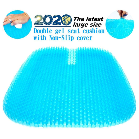 Doyble gel seat cushion