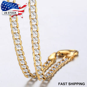 Gold Chain Necklace for Men & Women Necklaces Fashion Gift Ideas for Dad