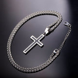 Cross Pendant Necklace For Men/Women Religious Christian Jewelry Christmas Gifts for Men Gifts for Dad