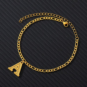 Gold Ankle Bracelet Initial Anklets For Women