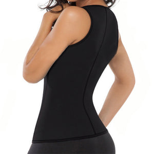 EXTREME Black Shapewear slimming thermo cami hot