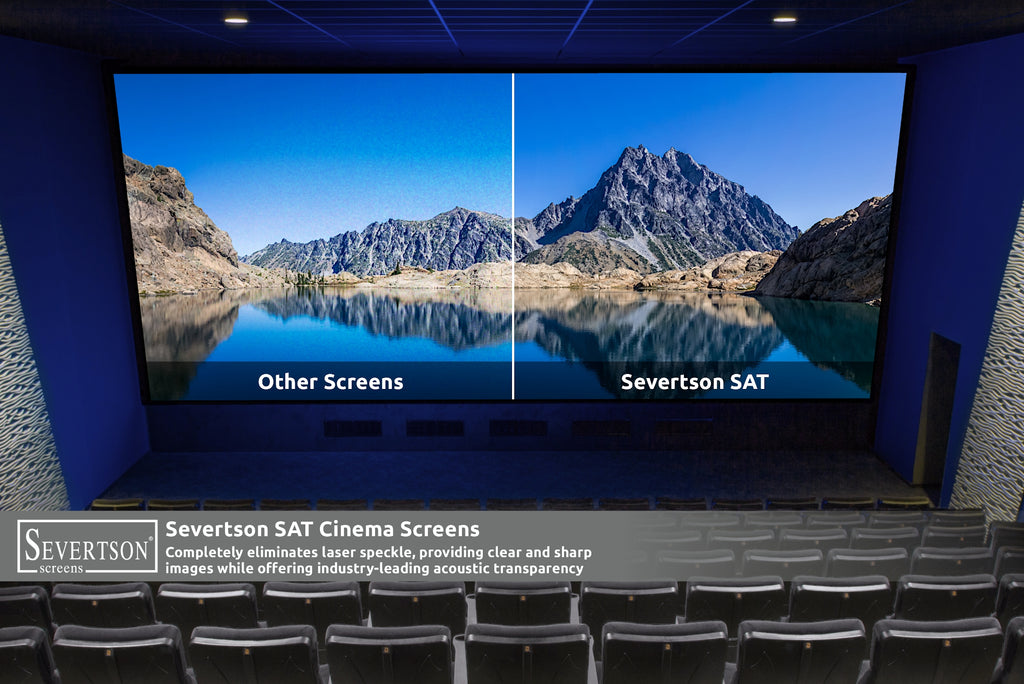 Severtson Screens Features Next Generation Folded SAT-4K Acoustically Transparent Cinema Screen at CinemaCon 2020