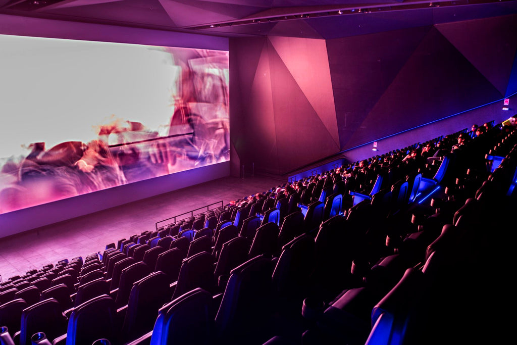 Severtson and Bardan provide 12 cinema screens & giant 3D cinema screen for Cineplanet's new  state-of-the-art Mall del Sur Multiplex in Lima, Peru
