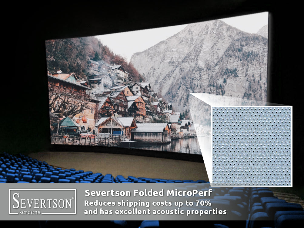 Severtson Exhibits Popular Options for Folded Cinema Projection Screens During Dubai MENA Cinema Forum 2019