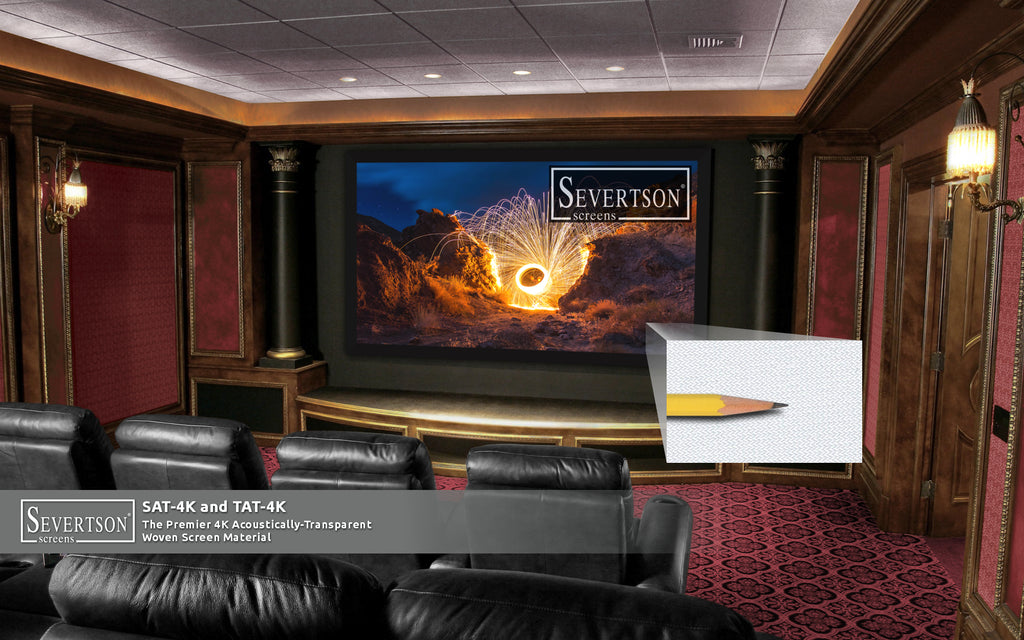 Severtson Screens Showcases Popular SAT-4K Acoustically-Transparent Projection Screens at CEDIA Expo 2019