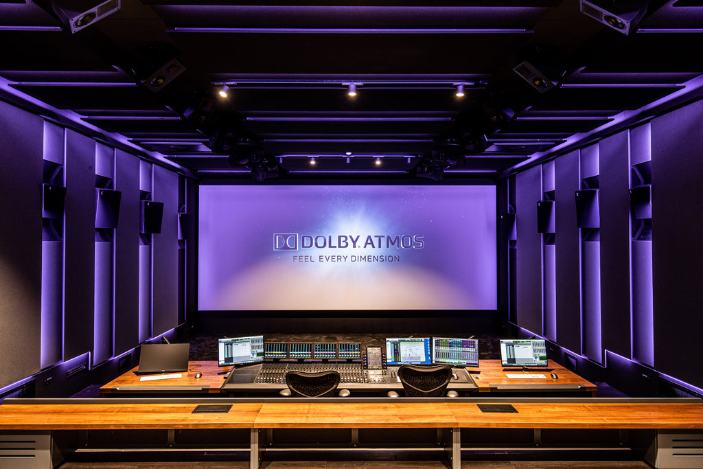 Amsterdam's STMPD Recording Studios Integrates Severtson's SAT-4K Screen Into Renovated Mix Stage