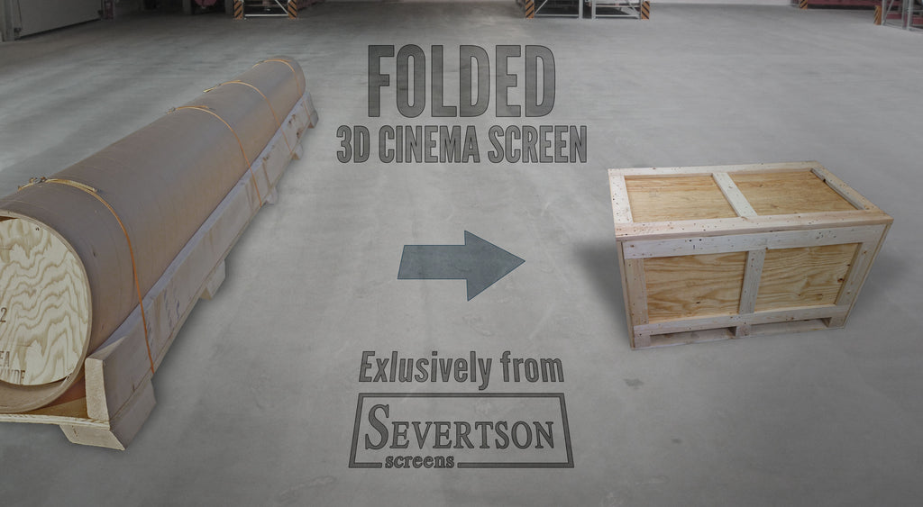 Severtson Screens Features New Folded Cinema Projection Screens/Technology at CineEurope 2015