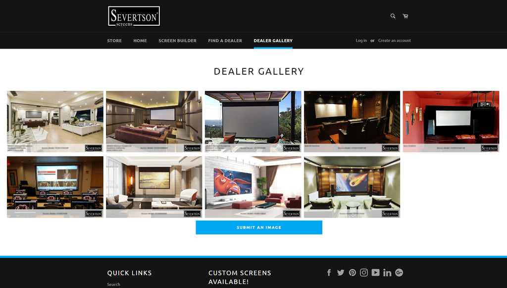 Severtson Screens Launches Dealer Gallery on Website