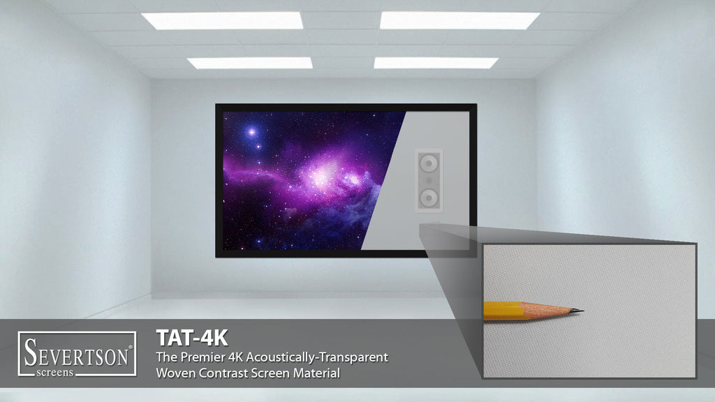 Severtson Screens Features TAT-4K & SAT-4K Acoustically-Transparent Projection Screens at 2016 InfoComm