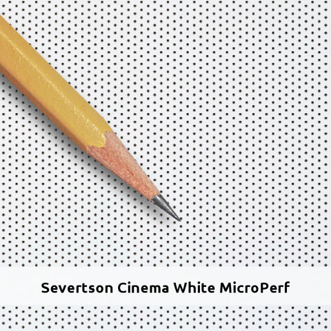 "Deluxe Curved Series 2.35:1 141"" Cinema White Micro Perf"