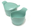 Creamer & Sugar Bowl in aqua