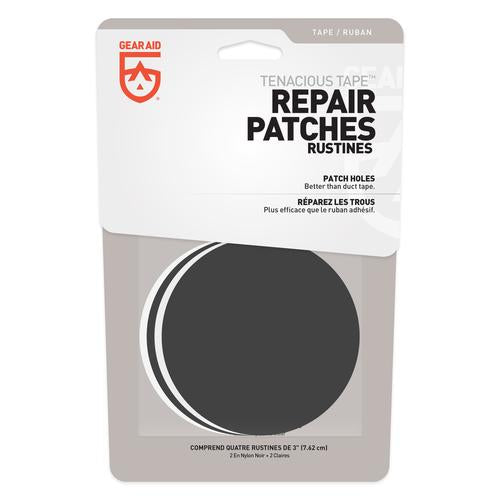 Gear Aid - Tenacious Tape™ Patches - Black/Clear