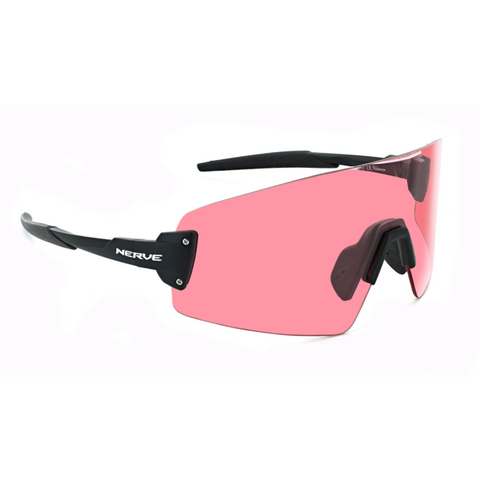 Optic Nerve - FixieBLAST Matte Black with Rose Lens