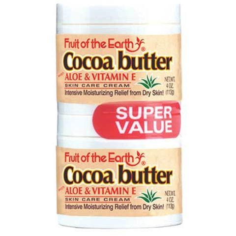 Fruit Of The Earth Cocoa Butter with Aloe Vera and Vitamin E Cream