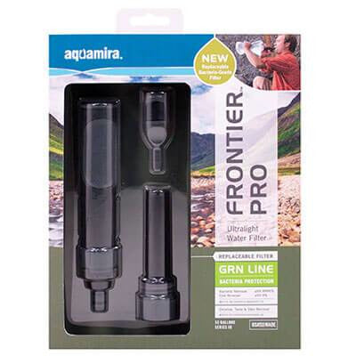 Aquamira® Frontier™  Pro Ultralight Filter
