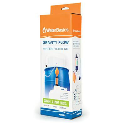 WaterBasics™ Gravity Flow Filter Kit