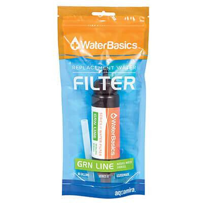WaterBasics™ Series II Green Line Replacement Filter