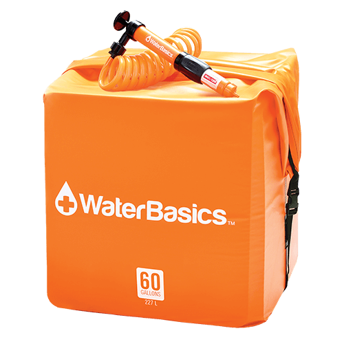 Aquamira - WaterBasics Emergency Water Storage Kit, 60 Gallon (227l)