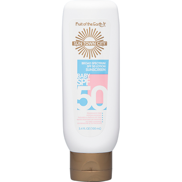 Sun Town City - SPF 50 Baby Sunscreen