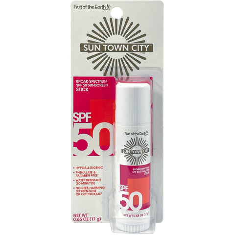 Sun Town City - SPF 50 Sunscreen Stick