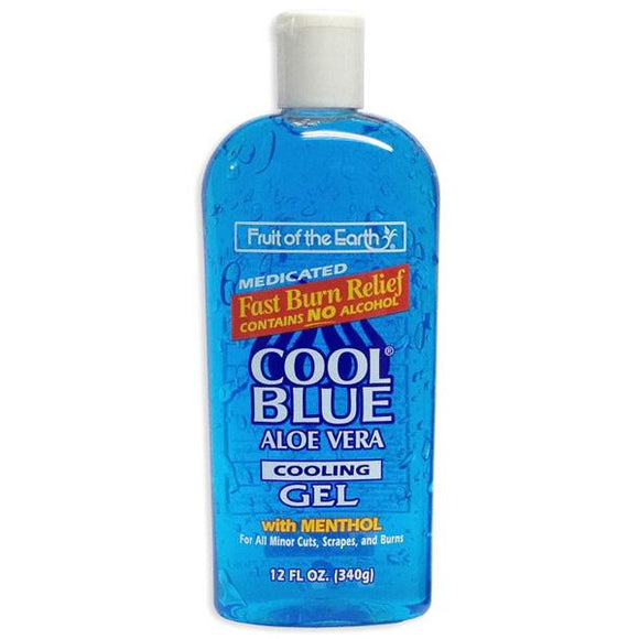 Fruit Of The Earth Cool Blue Aloe Vera Gel